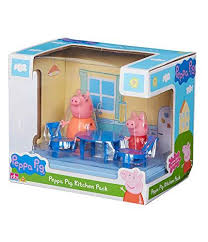 details about new peppa pig kitchen pack playset