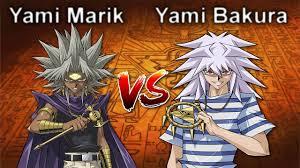 Yami Marik Deck Battle City by Yami Marik Vs Yami Bakura Yu Gi Oh Character Duels Youtube