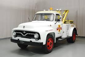 100 Brothers Classic Trucks 1955 Ford F600 Tow Truck Hyman Ltd Cars