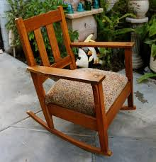 Antique Stickley Arts And Crafts Mission Style Oak Rocker ... Traditional Wooden Rocking Chair White Palm Harbor Wicker Rocking Chair Pong Rockingchair Oak Veneer Hillared Anthracite Ikea Royal Oak Rover Buy Ivy Terrace Classics Mahogany Patio Rocker Vintage With Pressed Back Jack Post Childrens Childs Antique Chairs Mission Armchair Tiger Styles In Huntly Aberdeenshire Gumtree Solid Rocking Chair