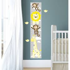 Grey And White Chevron Fabric Uk by Safari Fabric Nursery Wall Stickers