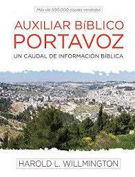 Auxiliar Biblico Portavoz Spanish Edition