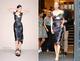 Poppy Delevingne In Vivienne Westwood Gold Label