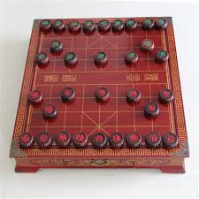 HOT SALE 1 Set Antique Wooden Chinese Chess Game Desktop 50MM Old Mahogany Red Suanzhimu China