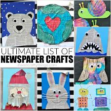 With Newspaper Or Its Something You Would Love To Try For The First Time This Amazing List Will Give Ideas Galore Of Wonderful Crafts