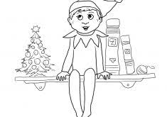Elf Ears Coloring Page