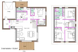 plan maison 150m2 4 chambres plan maison 150m2 avis sur plan de plain pied chambres de m
