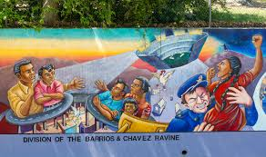 Famous Mural Artists Los Angeles by Judy Baca U0027division Of The Barrios And Chavez Ravine U0027 A Segment