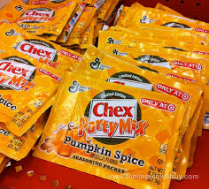 Pumpkin Spice Chex Mix With Candy Corn by Spotted On Shelves 8 30 2013 The Impulsive Buy
