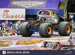 100 Monster Truck New Orleans LA USA 20th Feb 2016 Hurricane Force Monster Truck