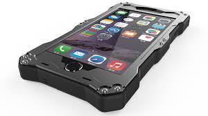 R Just Gundam Waterproof Metal Aluminium Glass Case for the iPhone