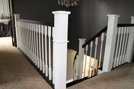 Remodelaholic | Curved Staircase Remodel With New Handrail How To Calculate Spindle Spacing Install Handrail And Stair Spindles Renovation Ep 4 Removeable Hand Railing For Stairs Second Floor Moving The Deck Barn To Metal Related Image 2nd Floor Railing System Pinterest Iron Deckscom Balusters Baby Gate Banister Model Staircase Bottom Of Best 25 Balusters Ideas On Railings Decks Indoor Stair Interior Height Amazoncom Kidkusion Kid Safe Guard Childrens Home Wood Rail With Detail Metal Spindles For The