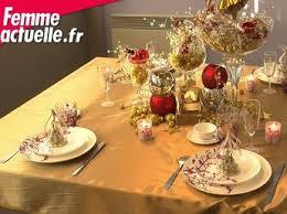deco noel de table table de noël nos idées de décoration en vidéos et photos