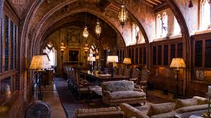 100 G5 Interior OC Inside The Gothic Study Of Hearst Castle In San Simeon