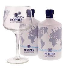 100 Nordes Gin Dubbel Pack 6 Glazen