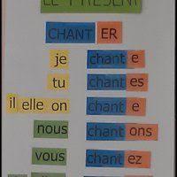 si er conjugaison verbes er fle le cahier interactif de mme pinteres