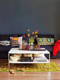 sitzecke im wohnzimmer im stilmix mit bild kaufen