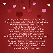 Happy Birthday Poem For Her Birthday Poems For Her And Him