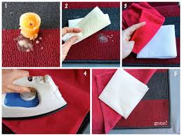 How Remove Wax From Carpet by How To Remove Wax Easily 6 Steps With Pictures