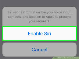 How to Use Siri on an iPhone with wikiHow
