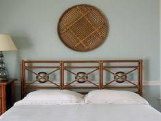 Bamboo Headboard And Footboard by Vintage Mcguire Rattan Bamboo Headboard Footboard Daybed Hollywood