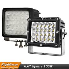 100W Square Led Driving Work Spot Lights 12V 24V IP67 Off Road Car ... 5 Best Off Road Lights For Trucks Bumpers Windshield Roof To Fit 10 16 Volkswagen Amarok Sport Roll Bar Stainless Steel 8 Online Shop New Led Offroad Lights 9 Inch Round Spot Beam 100w Square Led Driving Work Spot 12v 24v Ip67 Car 04 Duramax Unity Spotlight Install Dads Truck Youtube 4 Inch 27w Led 4x4 Accsories Spotlights Images Name G Passengers Sidejpg Views How To Install Rear F150 Cree Reverse Light Bars F150ledscom Amazoncom Light Bars Accent Lighting Automotive This Badass Truck Came In For Our Fleet Department Rear Facing 30v Remote Control Searchlight 7inch 50w