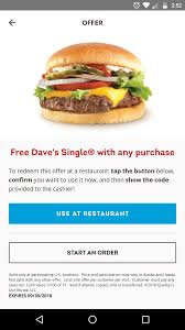 Wendy's App Coupon (YMMV): Free Dave's Single W/ Any ... Taylormade M6 Irons Steel Stitcher Premium Annual Subscription 35 Off 2274 Golf Galaxy Black Friday Ads Sales Deals Doorbusters 2018 Where To Find The Best On Note 10 Golfworks Tour Set Epoxy Coupons Discount Codes Official Site Garmin Gps Golf Watch Coupon Cvs 5 20 Oakley Mens Midweight Zip Msb Retail Promotion Management Mi9 Wendys App Coupon Ymmv Free Daves Single W Any