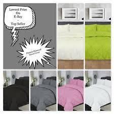 pintuck duvet set p cases luxury bed linen quilt