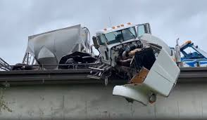 Semi Truck 'Partially Hanging' From Biz 80 Overpass Near McClellan ... Semi Truck And Mustang Collide In Utah County Multiple Injuries 18yearold Reidsville Woman Injured Crash With Semitruck News 2 People Dog Rescued From Semi Accident On Route 53 Long Semitrucks Speeding Icy Roads Leads To Crashes I94 Berrien Man Young Girl Killed Volving West Phoenix Semitruck Rollover Near Watauga Lake Semitruck Driver Cited Speed Infraction That Traffic Stopped Along Ogchee Road At Berwick Boulevard After Causes I65 Choking Chocolate Toyota Dealership Displays 2018 Camry That Got Rearended By Fatal Crash Grove Il 6102014 Firefighter Jobs Truck Dumps 46000 Pounds Of Lumber Wolf Creek Pass