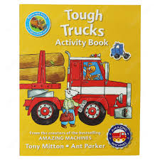 100 Buy Trucks Online Amazing Machines Tough Activity Book By Tony Mitton
