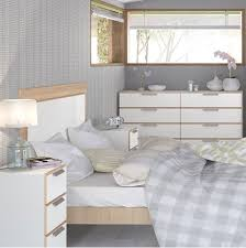Bedroom Furniture White And Oak
