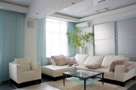light blue curtains living room peenmedia