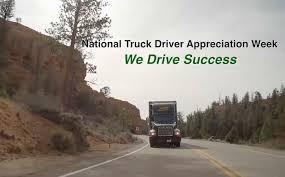 Videos | ArcBest September 11 17 Is National Truck Driver Appreciation Week When We 18 Fun Facts You Didnt Know About Trucks Truckers And Trucking Ntdaw Hashtag On Twitter Freight Amsters Holland Recognizes Professional Drivers Crete Carrier Cporation Landstar Scenes From 2016 We Holiday Graphics Pinterest Celebrating Eagle Tional Truck Driver Appreciation Week Prodriver Leasing 2017 Ptl Cporate