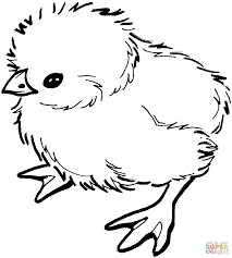 Click The Baby Chick Coloring Pages To View Printable