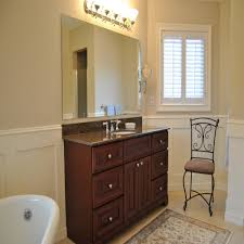 Small Bathroom Wainscoting Ideas by Delightful Bathroom Wainscoting U2014 The Clayton Design Bathroom