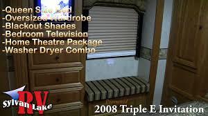 Gmc Motorhome Royale Floor Plans by 2008 Triple E Invitation Diesel Class A Motorhome Youtube