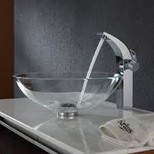 bathroom glass vessel sink kraususa com