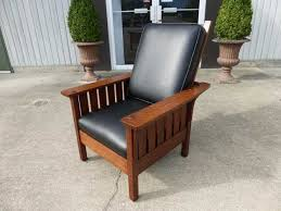 Stickley Morris Chair Free Plans by Limbert Rare Cut Out Morris Chair No 519 Grand Rapids Mi Ca