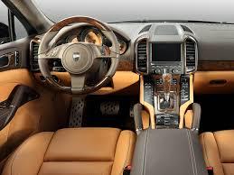 Porsche Cayenne Turbo by Lumma Design 2012 Interior design