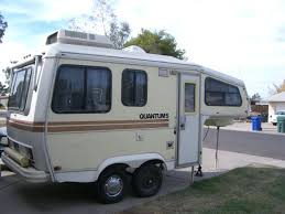 Meet A 30 Year Old Small Fifth Wheel Camper Who Goes By Quantum 5