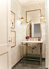 Half Bathroom Decorating Ideas Pinterest by Best 25 Small Bathroom Wallpaper Ideas On Pinterest Half