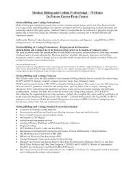 Examples Of Resume Objectives For Medical Billing And Coding RESUME With