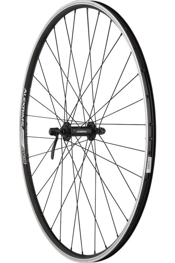 Quality Wheels Front Wheel Value Series 700c 100mm QR 32H Shimano/Alex