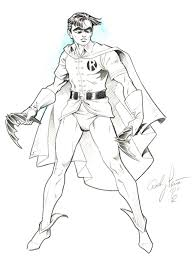 Batman And Robin Coloring Pages To Print Out
