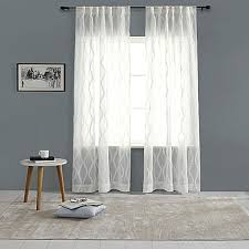 Bed Bath And Beyond Sheer Window Curtains by India U0027s Heritage Linen Fray Sheer Rod Pocket Back Tab Window