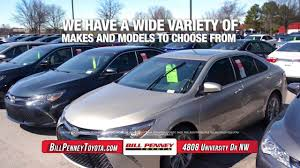 100 Affordable Used Cars And Trucks Huntsville Al For Sale AL Bill Penney Toyota YouTube