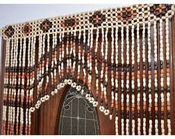 Doorway Beaded Curtains Wood by Impressive Decoration Doorway Bead Curtains Sumptuous Design