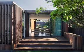 100 Coy Yiontis Architects Refined Timberwrapped House Is A Lowmaintenance Space For A