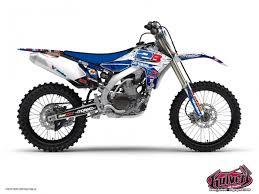 kit deco yz replica yzf kit déco moto cross yamaha 450 yzf kutvek kit graphik
