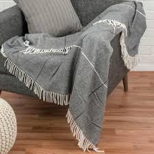 jetée canapé jetee de canape gris achat vente pas cher